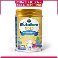 [Lon 400g] Sữa bột Nutricare MetaCare Gold 2+ giúp bé tiêu hóa khỏe, tăng hấp thu, tăng cân, phát triển chiều cao