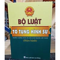 Bộ luật tố tụng hình sự - Nước Cộng Hòa xã hội chủ nghĩa Việt Nam ( hiện hành)