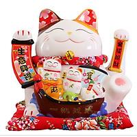 Mèo thần tài Nhất Lộ Hàm Phong