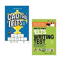 Combo sách Tiếng Anh: How To Crack The IELTS Speaking Test - Part 1 + Cao Thủ IELTS Đuổi Theo Chín Chấm (Bộ 2 cuốn sách hay nhất phá đảo IELTS)
