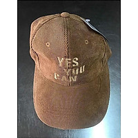 mũ ket nhung tăm thêu chữ nổi