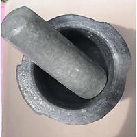 Cối đá Non Nước đường kính 20 cm MÀU ĐEN LOẠI LỚN