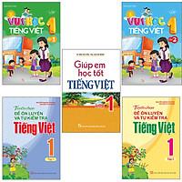 Sách: Combo 5 Cuốn Học Tiếng Việt Toàn Diện Cho Học Sinh Lớp 1