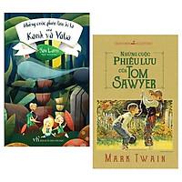 Combo Những Cuộc Phiêu Lưu Của Tom Sawyer + Những Cuộc Phiêu Lưu Kì Lạ Của Karik Và Valia (Bộ 2 Cuốn)