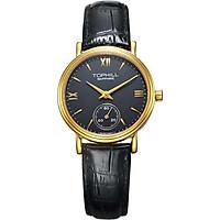 Đồng hồ nữ dây da chính hãng Thụy Sĩ TOPHILL TA021L.PB2197