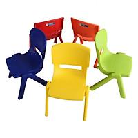 Combo 5 Ghế Nhựa Học Sinh - Sản Xuất từ 100% Nhựa Chính Phẩm Chịu Va Đạp Và Chịu Lực Tốt, Bảo Đảm An Toàn Cho Sức Khỏe Trẻ Nhỏ - Giao màu ngẫu nhiên