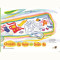 Chuyến dã ngoại của quần áo - Tranh truyện Ehon kích thích khả năng quan sát cho trẻ từ 3-6 tuổi - Mọt sách Mogu