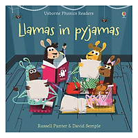 Usborne Llamas in pyjamas