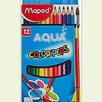 Chì 12 Màu Nước Maped 836011