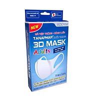 Bộ 2 Hộp Khẩu Trang 3D Mask Tanaphar người lớn (hộp 10 chiếc)