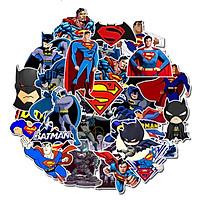 Bộ 45 miếng Sticker hình dán Siêu nhân Batman