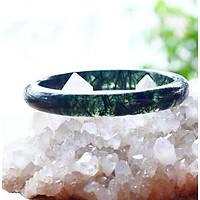 Vòng tay đá thạch anh tóc xanh liền khối mệnh hỏa, mộc - Ngọc Quý Gemstones