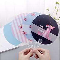 [COMBO 4 CHIẾC] Quạt nhựa cầm tay nhiều hình đẹp ngỗ nghĩnh cho bé