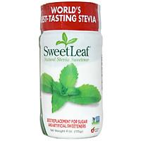 Đường ăn kiêng cỏ ngọt 0 calories dạng bột - Sweetleaf stevia tự nhiên 115g