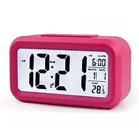 Đồng hồ điện tử màn hình LCD đo thời gian, lịch, báo thức, nhiệt độ nhiều màu ZO89