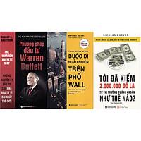 Combo Đầu Tư Thành Công ( Phương Pháp Đầu Tư Warren Buffett + Bước Đi Ngẫu Nhiên Trên Phố Wall + Tôi Đã Kiếm Được 2.000.000 Đô-La Từ Thị Trường Chứng Khoán Như Thế Nào? ) (Quà Tặng: Cây Viết Galaxy )