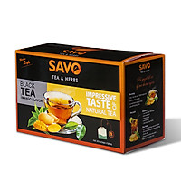 Trà SAVO Xoài (Mango Tea) - Hộp 25 Túi x 2g