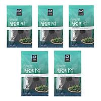 Combo 5 Gói Rong Biển Khô Daesang Nấu Canh Rong Biển - Nhập Khẩu Hàn Quốc (Gồm 5 gói 100G)