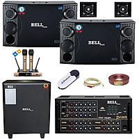 Trọn bộ dàn karaoke và nghe nhạc PA - 5600S BellPlus (hàng chính hãng)