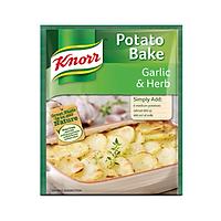 Sốt vị tỏi và thảo mộc Knorr Potato Bake Garlic & Herb (43g)