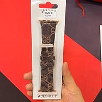 Dây đeo bằng da thay thế cho đồng hồ thông minh Apple Watch đủ size
