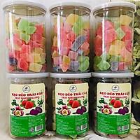 Kẹo dẻo trái cây hũ 400g ( 440g cả hũ)