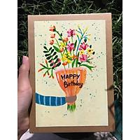 Sổ handmade flower 3