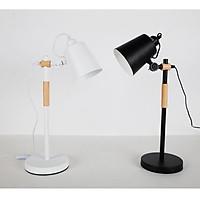 Đèn để bàn chống cận thị, bảo vệ mắt, đèn học thông minh, đèn học chống cận thị, đèn gỗ sồi