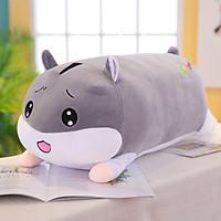Gối ôm gấu bông hình chuột cute siêu mềm size bự 45cm  màu xám TNB229 - Mẫu ngẫu nhiên