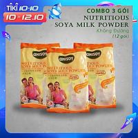 Combo 3 gói bột đậu nành không đường (360g )