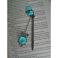 Kẹp sách bookmark dạ quang Chim cú