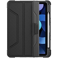 Bao da cho iPad Air 4 2020 10.9 Inch Nillkin Bumper Leather Case (Có khe cắm bút Apple Pencil) - Hàng Nhập Khẩu