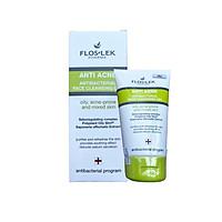 Floslek Sữa Rửa Mặt Dạng Gel Cho Da Nhờn Mụn Anti Acne Bacterial Face Cleansing Gel 125ml