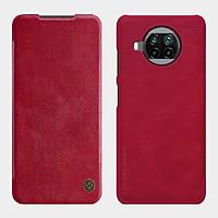 Bao da cho Xiaomi Mi 10T Lite - Redmi Note 9 Pro 5G Nillkin Qin - Hàng nhập khẩu