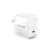 Sạc nhanh RAVPower USB-C GaN 61W Power Delivery - RP-PC112 - Hàng Nhập Khẩu