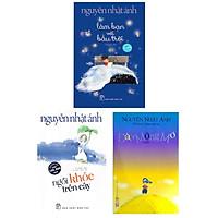 Combo Top Sách Hay Nhất Của Nguyễn Nhật Ánh: Làm Bạn Với Bầu Trời + Ngồi Khóc Trên Cây + Đảo Mộng Mơ (Tặng Kèm Bookmark Green Life)