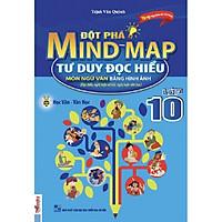 COMBO Đột phá MIND MAP- tư duy đọc hiểu môn ngữ văn bằng hình ảnh lớp 10 (Tặng bút thú siêu dễ thương)