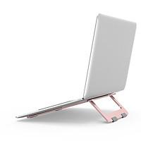 Giá Đỡ Dành Cho Laptop Macbook, Máy Tính Xách Tay - Chất Liệu Hợp Kim Nhôm Cao Cấp, Dễ Dàng Gấp Gọn - Hàng Chính Hãng LuxOff