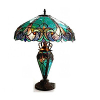 Đèn bàn cao cấp kiểu dáng Tiffany copper