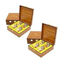 Yến sào Song Việt - Combo 2 hộp gỗ thời thượng ( loại 4 phần/ hộp)