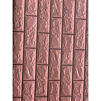 5m giấy decal cuộn dán tường gạch đỏ có sẵn keo DTL96