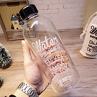 Bình đựng nước trong sạch không ám mùi cực được lựa chọn 1000ml kèm túi đựng