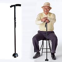 Gậy cho người già chống trượt có đèn Led