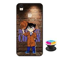 Ốp lưng nhựa dẻo dành cho Vivo V3 Max in hình Conan Detective - Tặng Popsocket in logo iCase - Hàng Chính Hãng