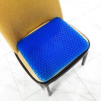 Đệm ngồi 3D Silicon cao cấp thoáng khí chống đau mỏi - Hàng nhập khẩu