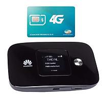 Huawei E5786   Thiết bị phát wifi 3G/4G tốc độ download lên đên 300 Mbps + Sim Viettel Trọn Gói 12 Tháng  7GB/tháng tốc độ cao - Hàng chính hãng
