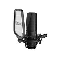 Phụ Kiện Âm Thanh | Micro Thu Âm Chuyên Nghiệp BOYA USB & Large-Diaphragm Condenser Mic BY-M1000 - Hàng Chính Hãng