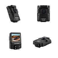 Bộ VietMap C63 (Camera Hành Trình ghi hình Trước & Trong xe Cảnh Báo Thông Tin Giao Thông phát WiFi truyền dữ liệu qua Smartphone