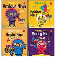 Combo Ninja Nhí - Rèn Luyện Tư Duy Tích Cực ( Bộ 4 cuốn )