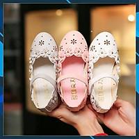 Giày búp bê họa tiết hoa cát tường siêu dễ thương dành cho bé gái 21206
